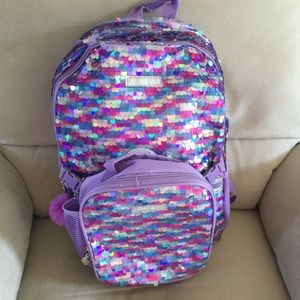 💞💗LIMITED TOO 💯BACKPACK LUNCH BAG SET. NWT🌸❤️